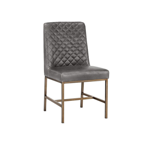 Leigh Dining Chair - Overcast Grey