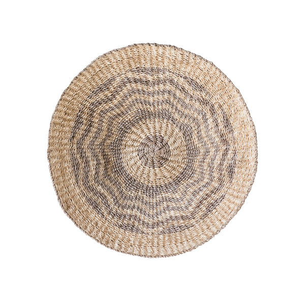 Abaca Wall Baskets - Light Grey