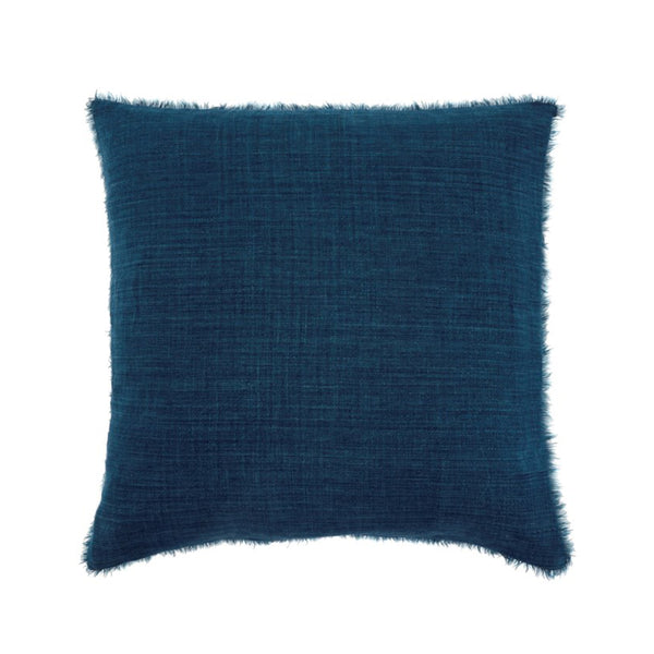 Lina Linen Pillow - Cobalt