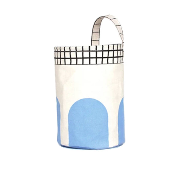 Lodi Round Storage Basket - Blue