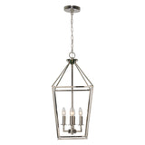 Wendyl Polished Nickel Pendant