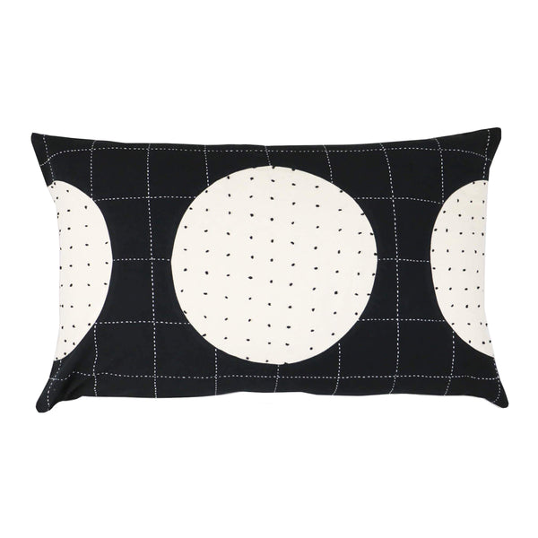 Lunar Dot Lumbar Pillow