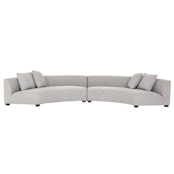 Luna Sectional - Grey
