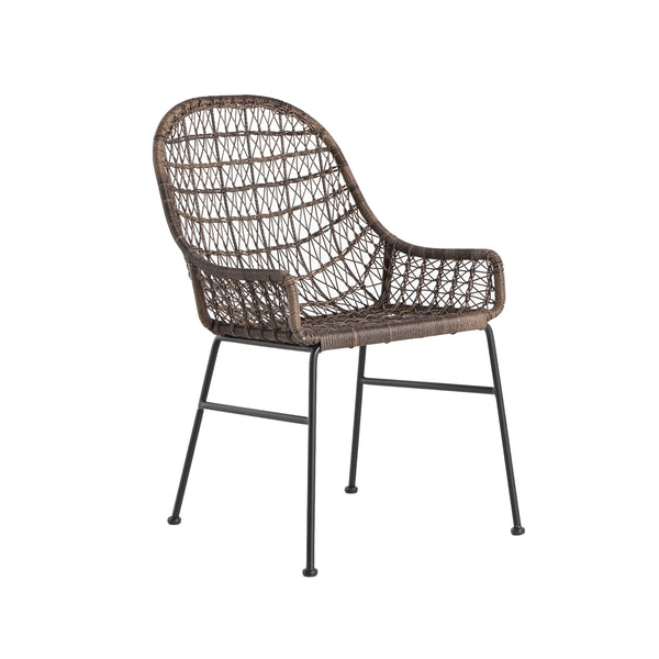 Mandara Dining Chair - Distressed Grey