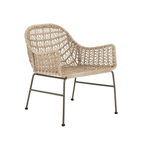 Mandara Outdoor Chair - Vintage White - Floor Model