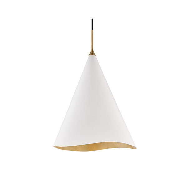 Martina Pendant - White