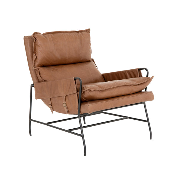 Mason Armchair - Saddle
