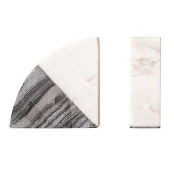 Meeta Marble Bookends