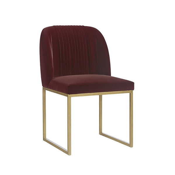 Leighton Dining Chair - Merlot