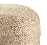Mesa Pouf - Antique White