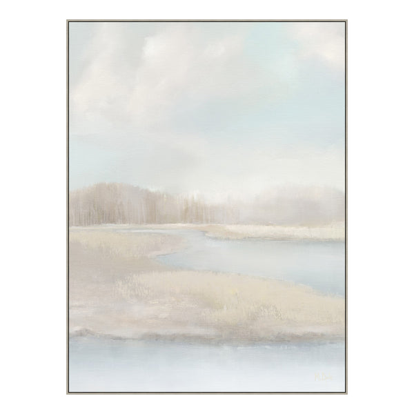Misty Marsh Canvas