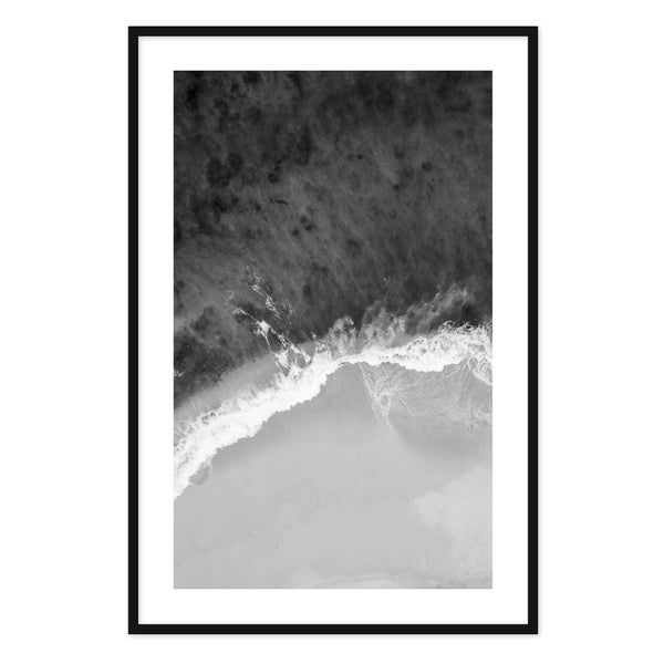 Modern Wave Framed Print I