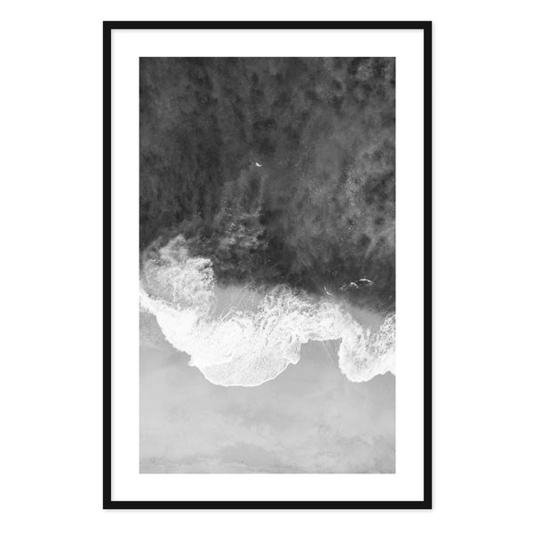 Modern Wave Framed Print II