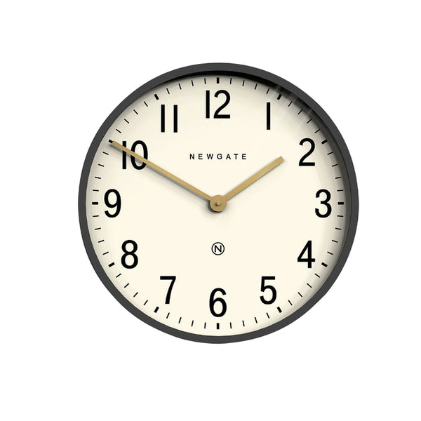 Mr. Edwards Wall Clock - Moonstone