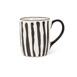 Black Stripe Mug