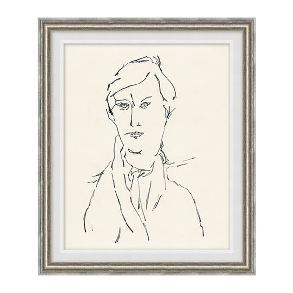 Mysterious Man II Framed Print