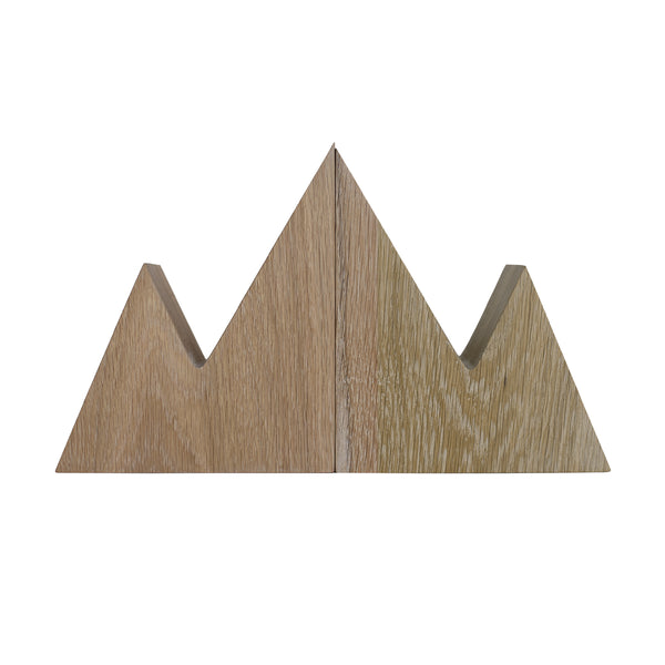 Mount Leclair Bookends - Natural