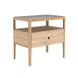 Oak Spindle Nightstand