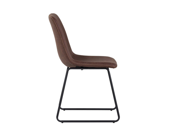 Nikki Dining Chair - Antique Brown