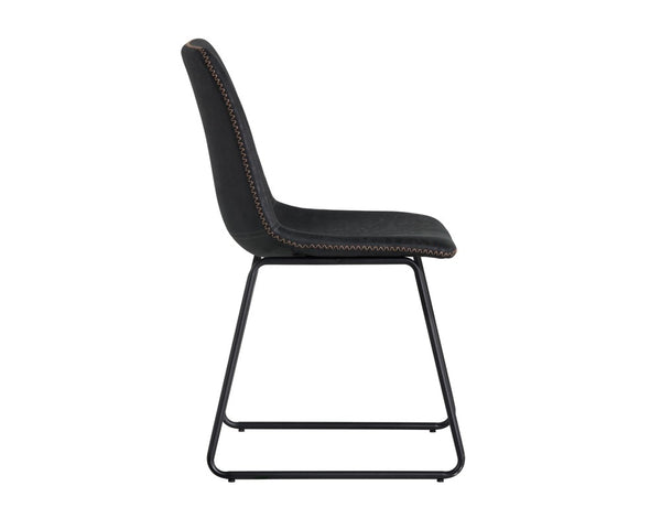 Nikki Dining Chair - Antique Black