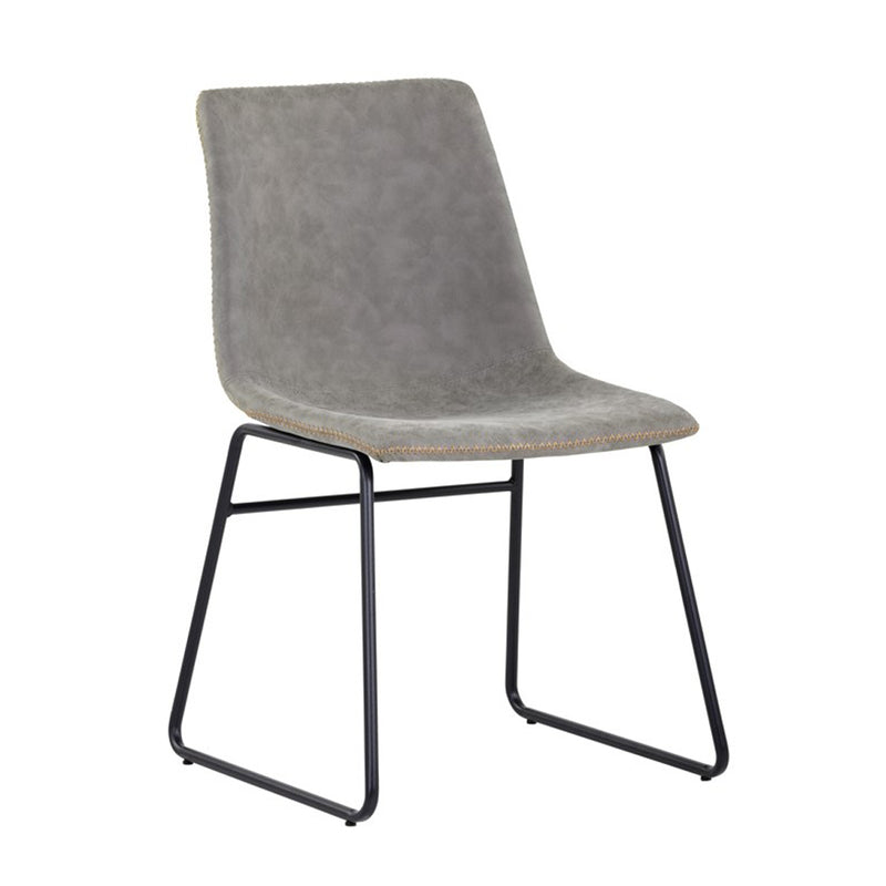 Nikki Dining Chair - Antique Grey