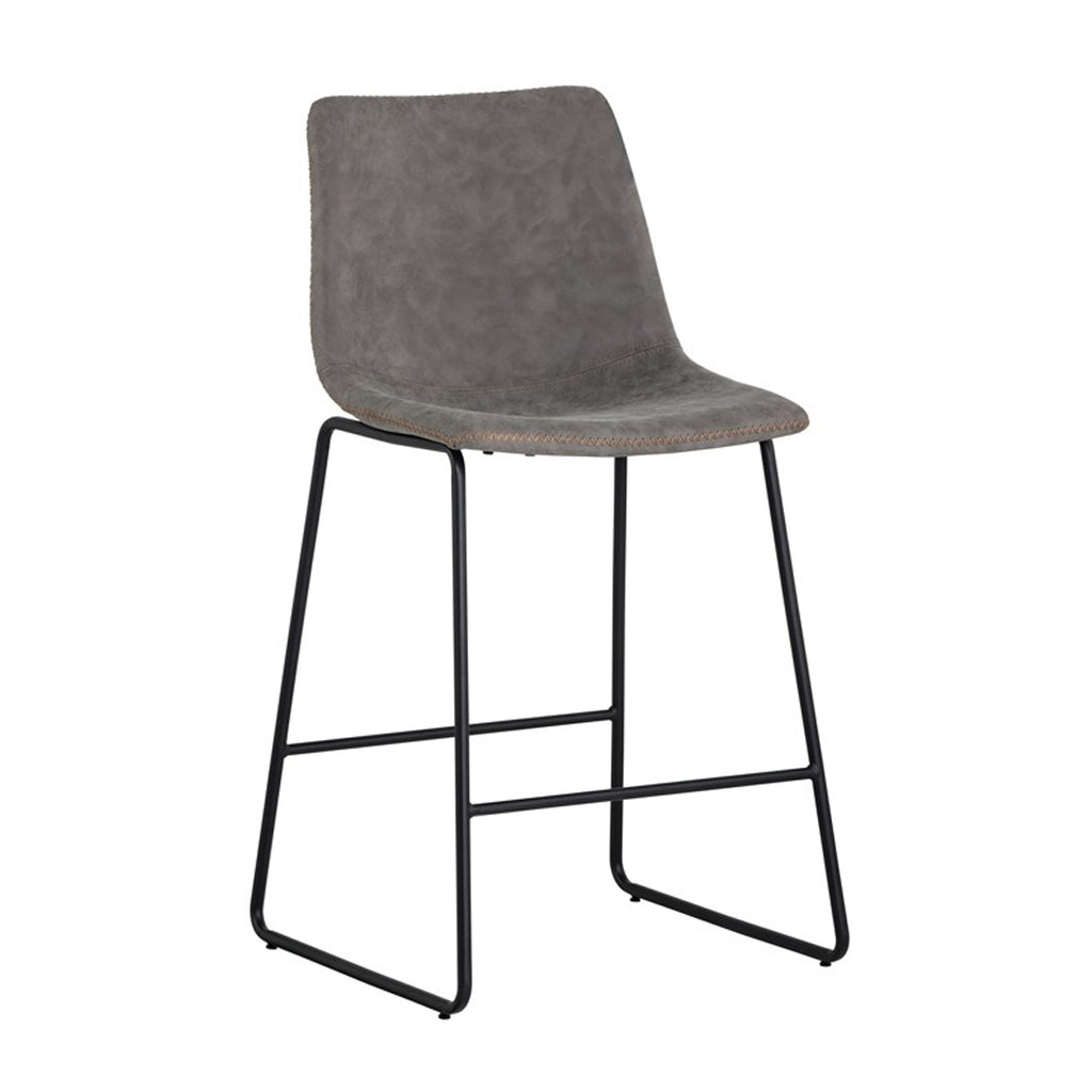 Nikki Counter Stool - Antique Grey
