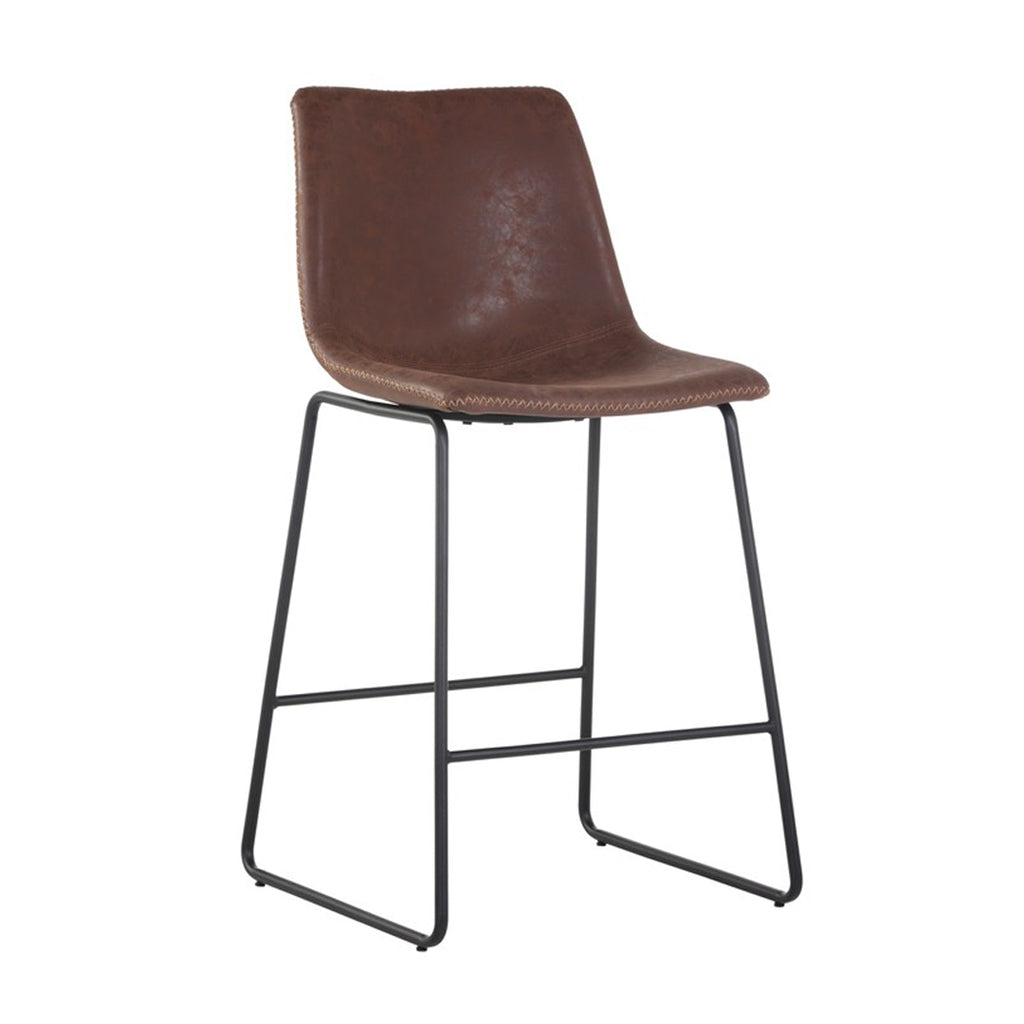 Nikki Counter Stool - Antique Brown