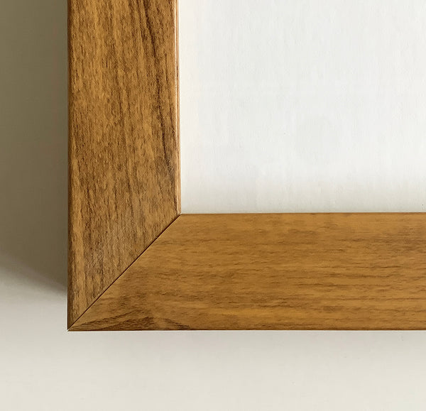 Loft Square Frame - Oak (Glass)
