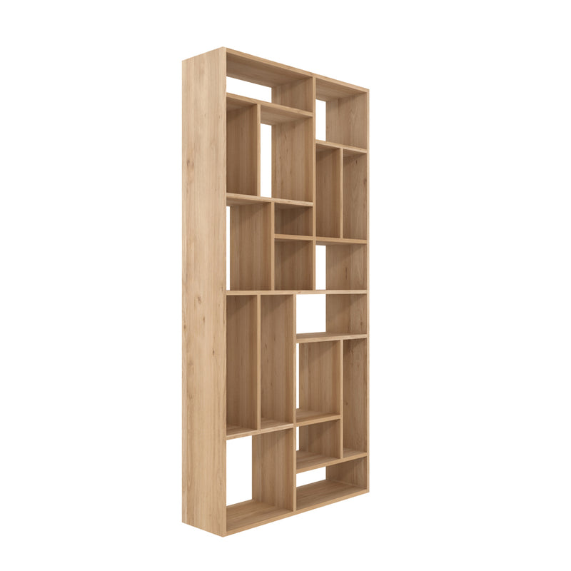 Oak M Bookcase