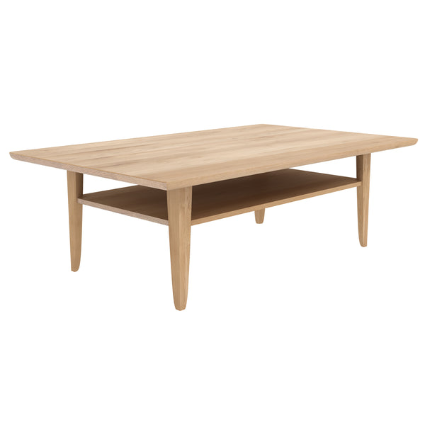 Oak Simple Coffee Table