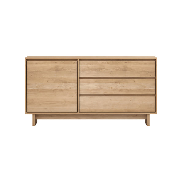 Oak Wave Sideboard