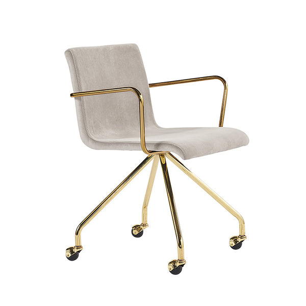 Dionysus Beige Office Chair