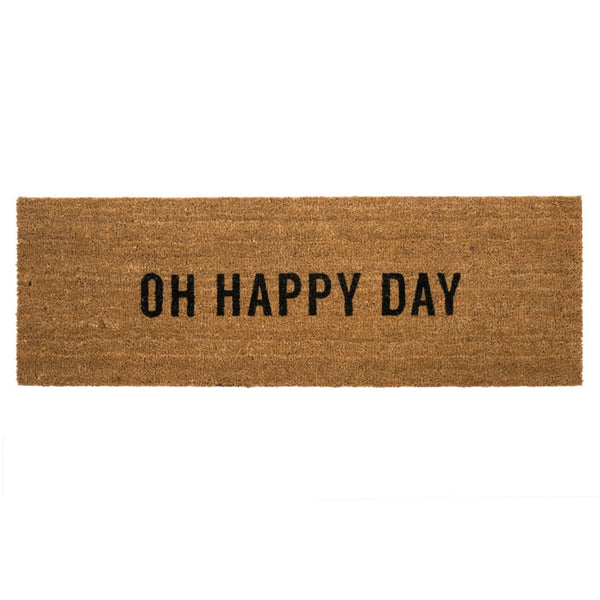 Oh Happy Day Coir Doormat