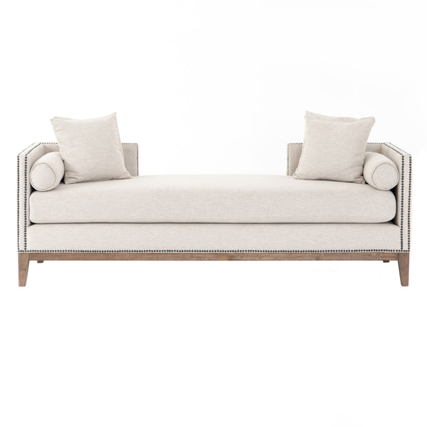 Olston Double Chaise - Platinum
