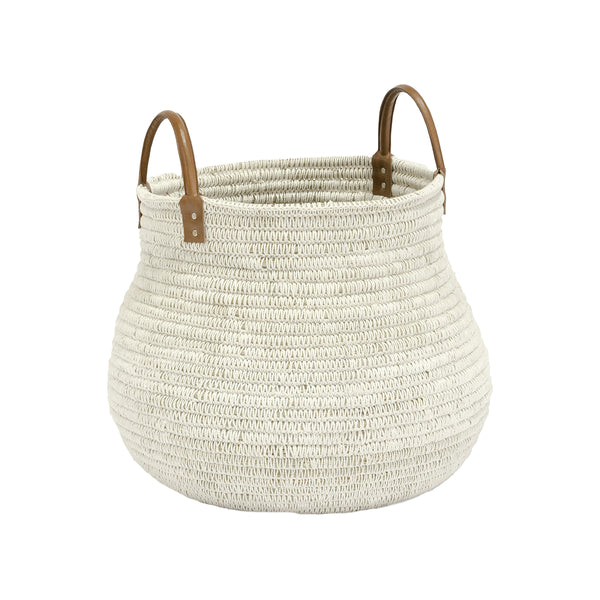 Pharaoh Basket - White