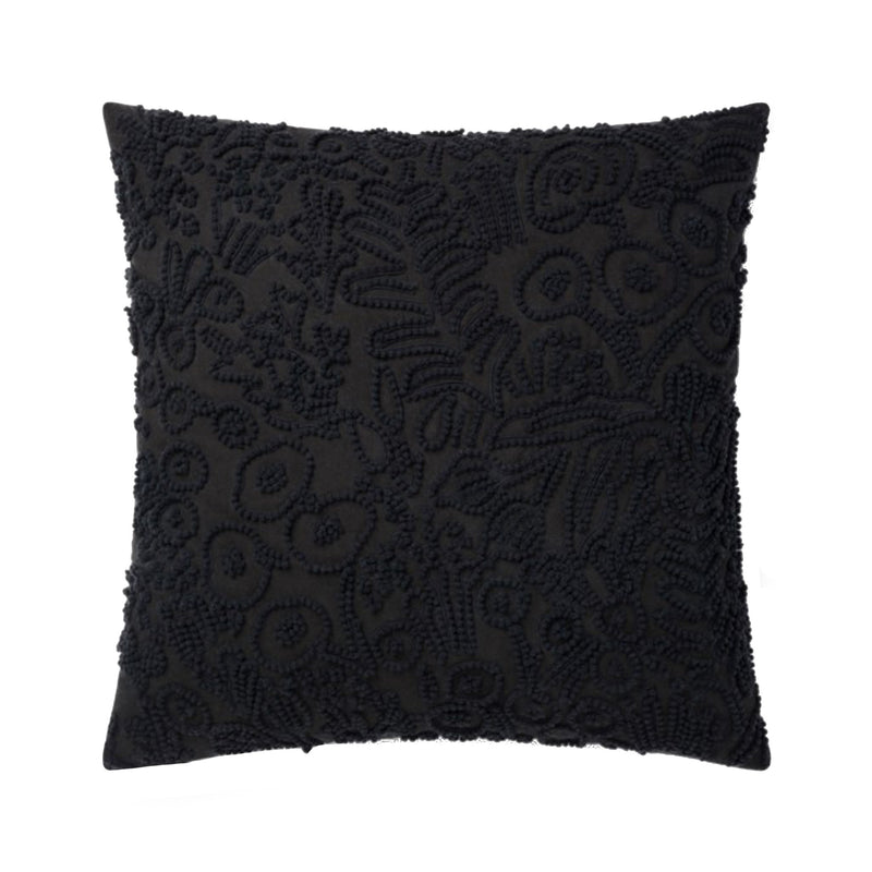 Rifle Paper Black Pillow