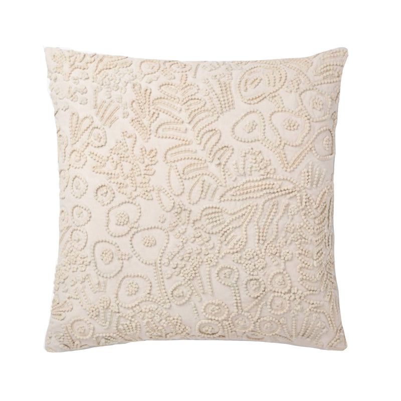 Rifle Paper Ivory Pillow