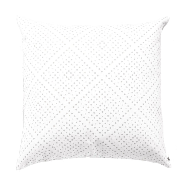 Light Grey Didot Pillow
