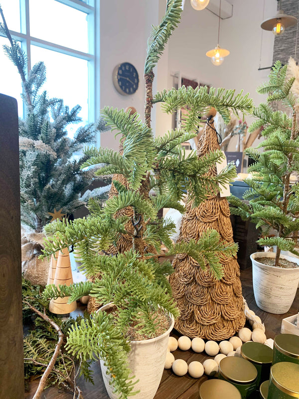 Faux Pine Tree in Pot