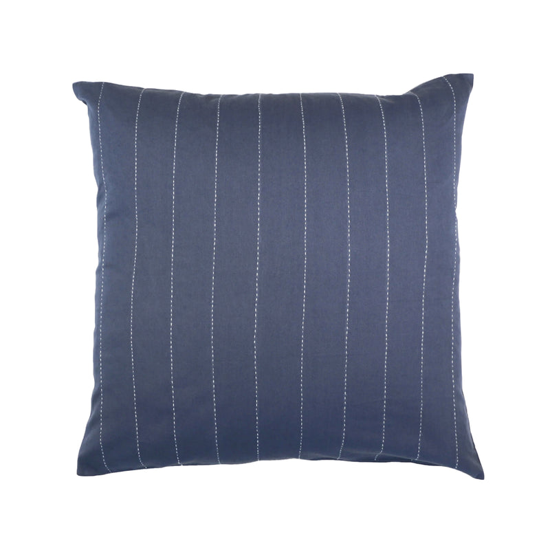 Pin-Stitch Pillow - Slate