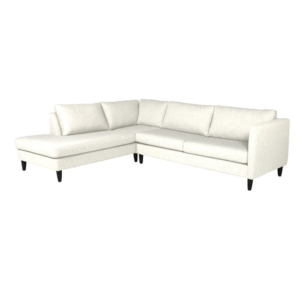 Leclair Chaise Sectional Loveseat LHF