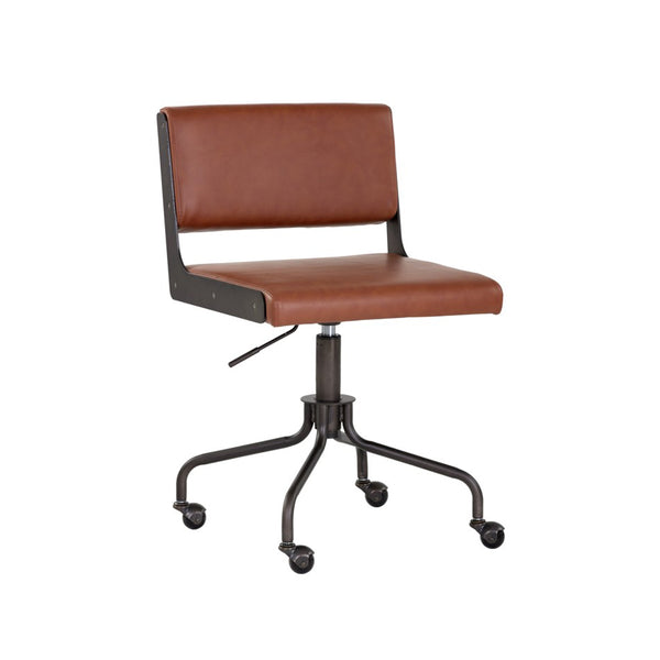 Jameson Office Chair - Rust
