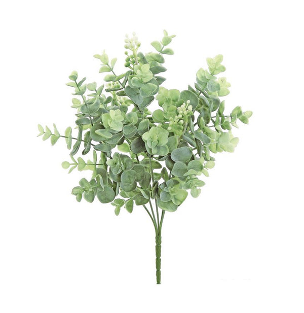 Faux Seeding Large Eucalyptus Bush - Sage