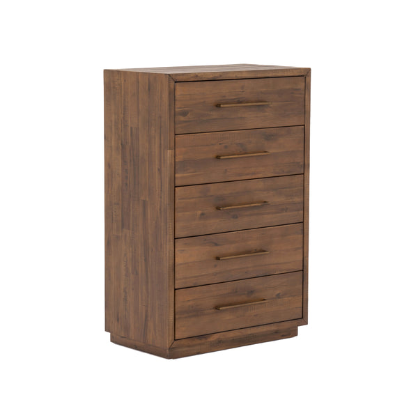 Sake 5 Drawer Dresser - Heritage Brown