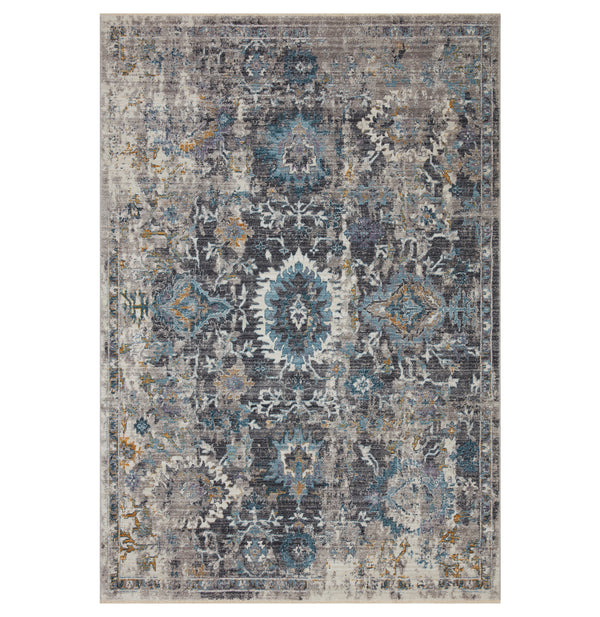 Samra Grey/Multi Rug
