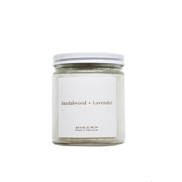 Sandalwood and Lavender Candle