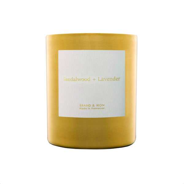 Sandalwood + Lavender Goldie Candle