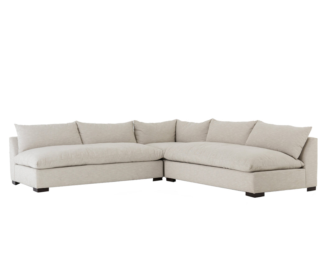 Wisconsin 3 Piece Oatmeal Sectional