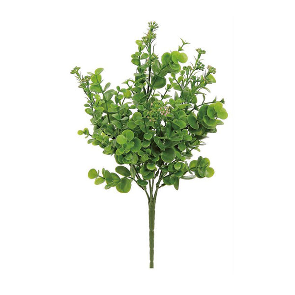 Faux Seeding Eucalyptus Bush - Light Green