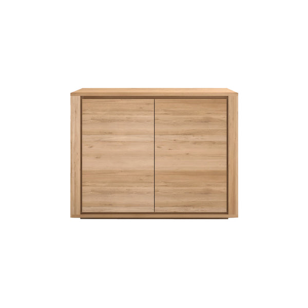 Oak Shadow 2 Door Sideboard